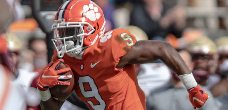 2021 NFL draft running back rankings: Travis Etienne, Najee Harris lead the RB class