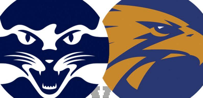 AFL 2021 LIVE updates: Jeremy Cameron makes Geelong debut against West Coast, Suns host Swans
