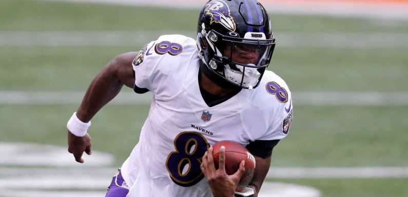 After man recognizes but is unable to name Lamar Jackson, Ravens QB pays him $100 anyway