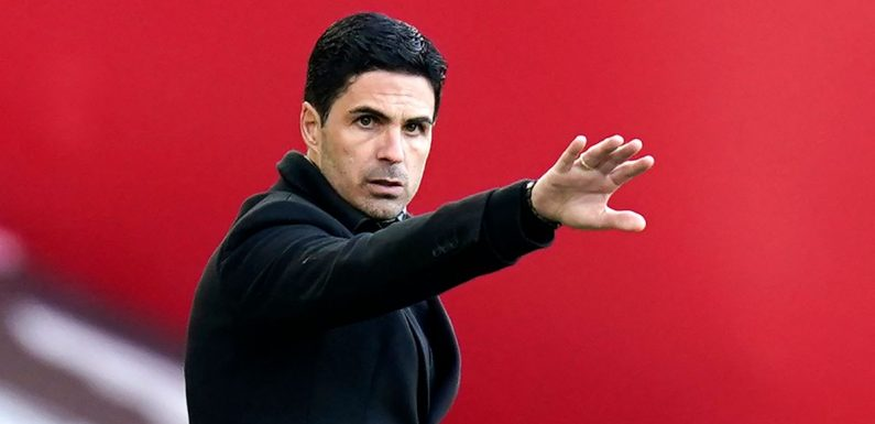 Arsenal hierarchy 'unhappy' with Mikel Arteta and are shortlisting a successor