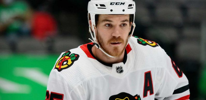 Blackhawks' Andrew Shaw, citing concussions, retires from NHL at 29