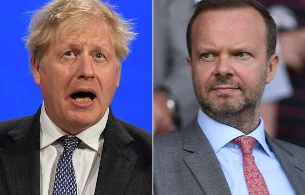 Boris Johnson met with Ed Woodward in Downing Street days before European Super League launch