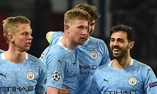 CHRIS SUTTON: Man City made the most of two slices of luck in Paris