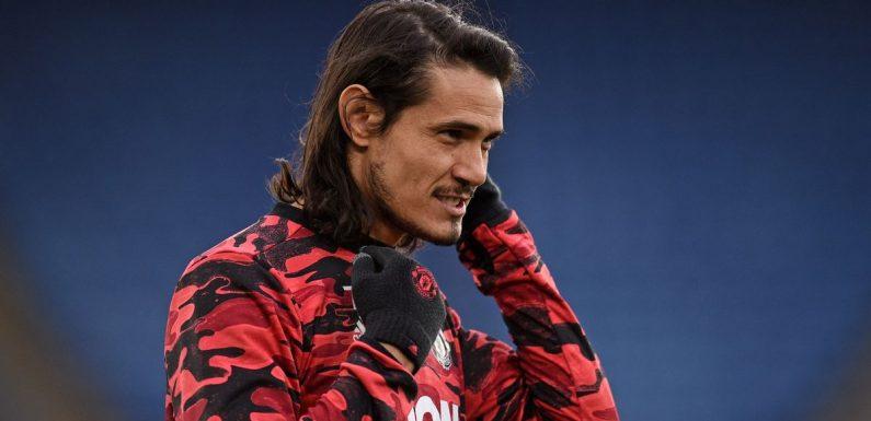 Cavani 'makes Man Utd transfer decision' amid Boca Juniors 'shirt no. gesture'