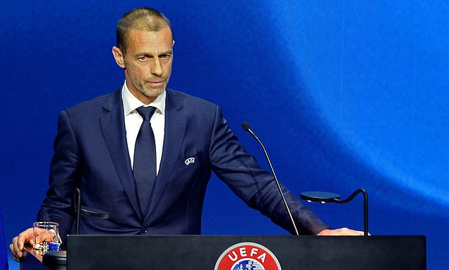 Ceferin: Players face pay cuts if there are fewer European games