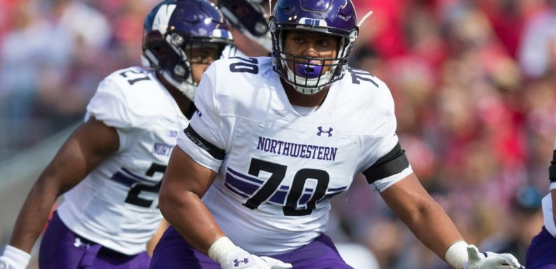 Chargers select Northwestern OL Rashawn Slater with No. 13 overall pick
