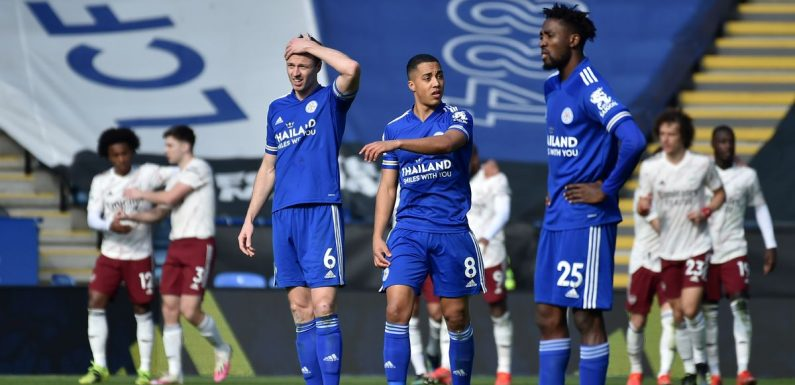 Chelsea and Arsenal could stop Leicester from qualifying for Champions League
