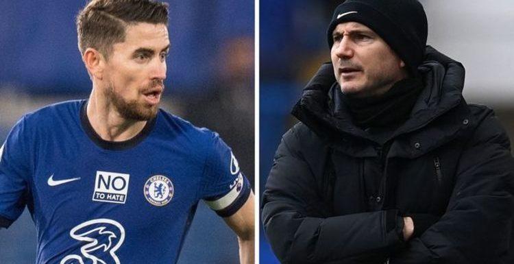 Chelsea star Jorginho takes bitter swipe at Frank Lampard – 'He wasn't ready'