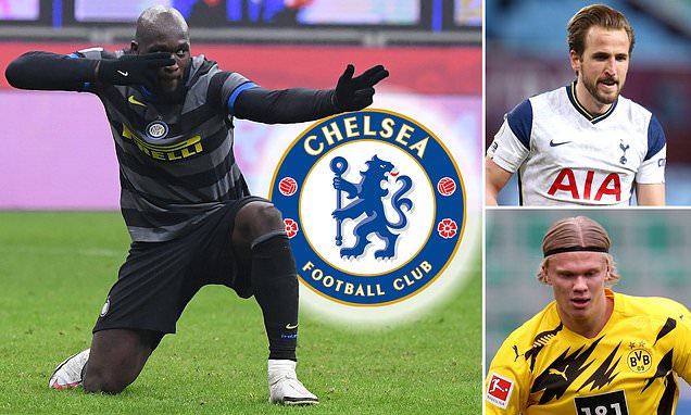 Chelsea target reunion with Lukaku – but at £105m asking price