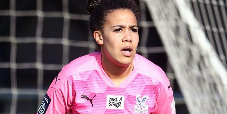 Chloe Morgan: Crystal Palace goalkeeper crowned Sports Star of the Year at DIVA Awards