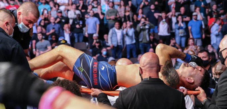 Chris Weidman leg injury: UFC 261 fighter set for year out after gruesome break against Uriah Hall