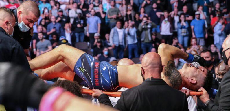 Chris Weidman unveils UFC scars and shows where bone pierced through skin