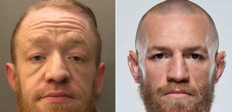 Conor McGregor impersonator jailed for three years for drug dealing