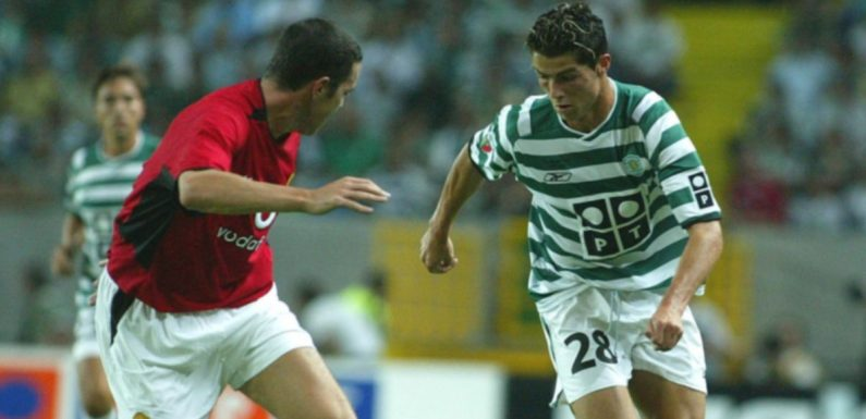 "Cristiano Ronaldo left John O'Shea ""needing oxygen tank"" after being embarrassed"