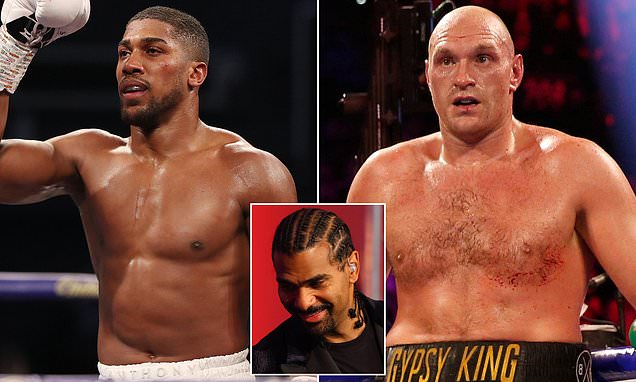 David Haye: Joshua's shock Ruiz defeat gives him edge over Fury