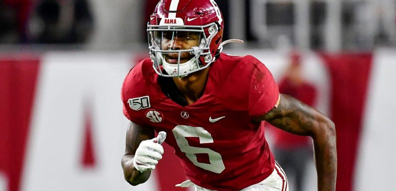 DeVonta Smith on weight questions: 'We're not weightlifting. We're not bodybuilders'