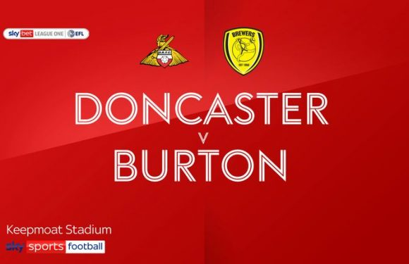 Doncaster 0-3 Burton: Brewers boost survival hopes at the Keepmoat