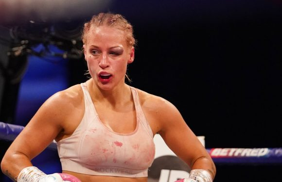 Ebanie Bridges left with gruesome eye injury after brutal Shannon Courtenay bout