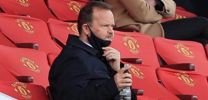Ed Woodward resigns as Man Utd vice-chairman over European Super League