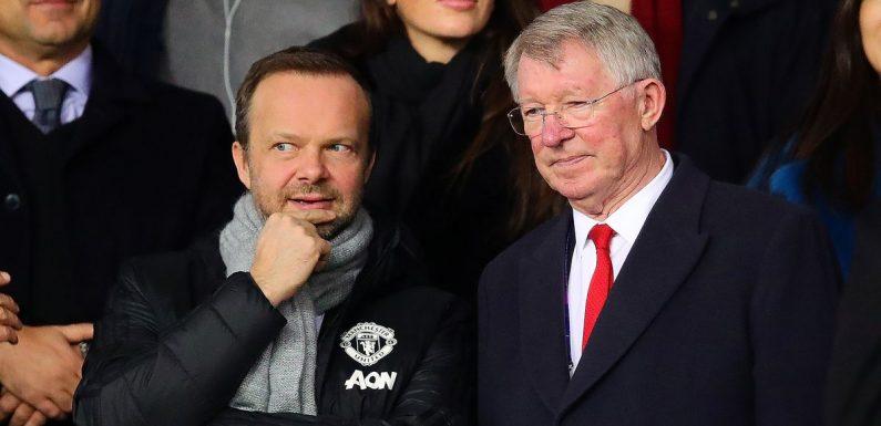 Ed Woodward will copy Sir Alex Ferguson by choosing his own successor at Man Utd
