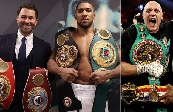 Eddie Hearn says Joshua-Fury fight venue could be picked NEXT WEEK