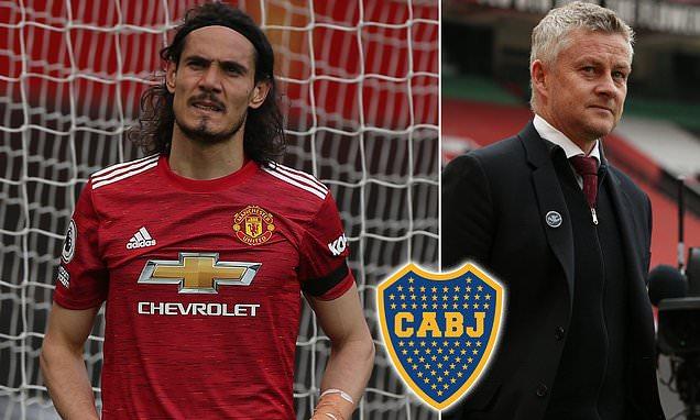 Edinson Cavani 'has asked to LEAVE Man United to join Boca Juniors