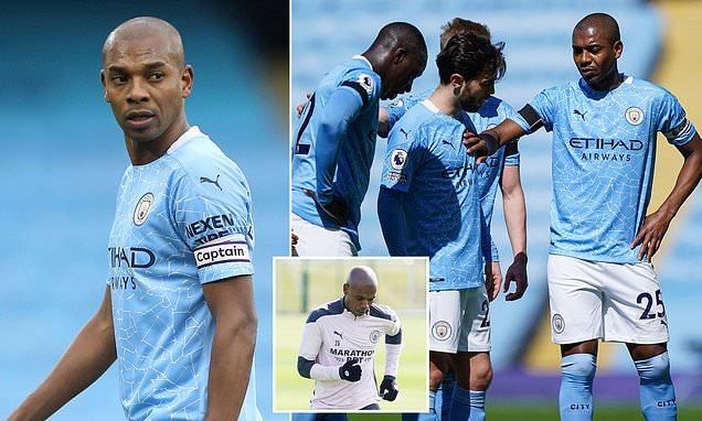 Fernandinho scolded Man City stars after December training session
