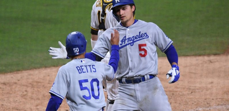 Five hours, 12 innings and 17 runs: Dodgers-Padres Game 1 lives up to the hype