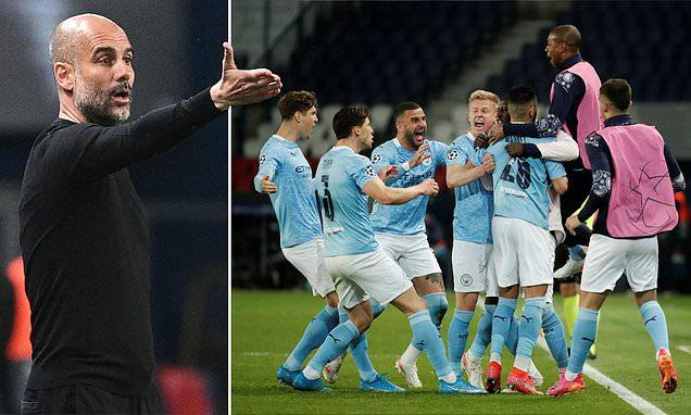 Guardiola hails 'agressive' second half performance against PSG