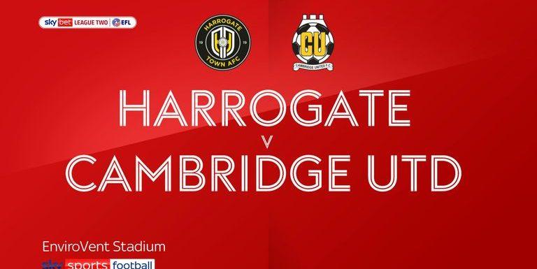 Harrogate 5-4 Cambridge: United miss promotion chance after losing nine-goal epic