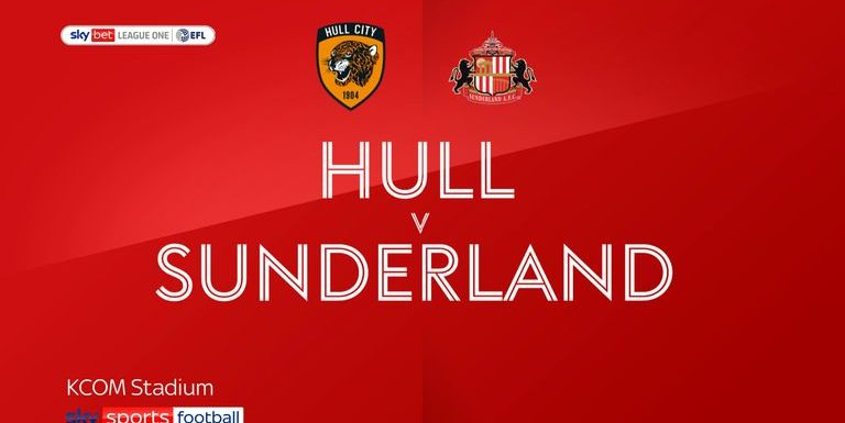 Hull 2-2 Sunderland: Tigers within touching distance of promotion after battling back for draw