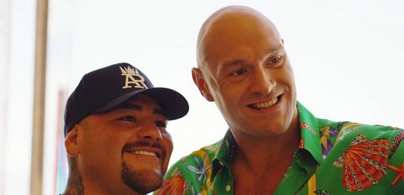 Inside Tyson Fury and Andy Ruiz Jr's chat about rival Anthony Joshua