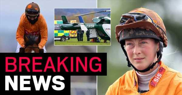 Jockey Lorna Brooke dies aged 37 after fall at Taunton