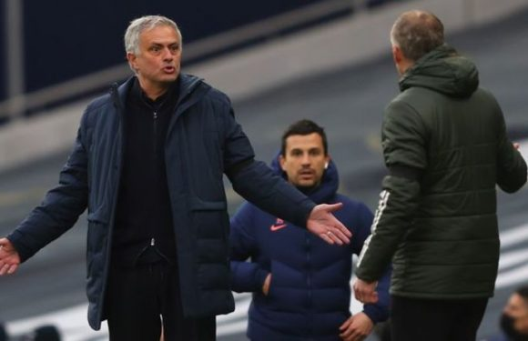 Jose Mourinho fumes at Solskjaer comments and confronts Man Utd boss in private encounter