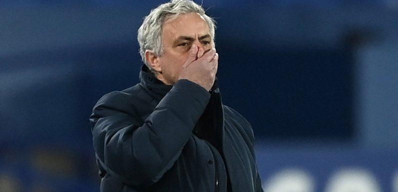 Jose Mourinho sacked: Tottenham part company with manager