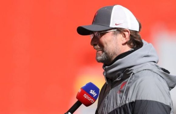 Jurgen Klopp laughs in shock at Liverpool record in off-air exchange with interviewer