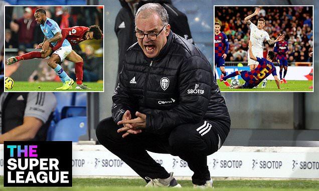 Leeds manager Marcelo Bielsa hits out at European Super League plans