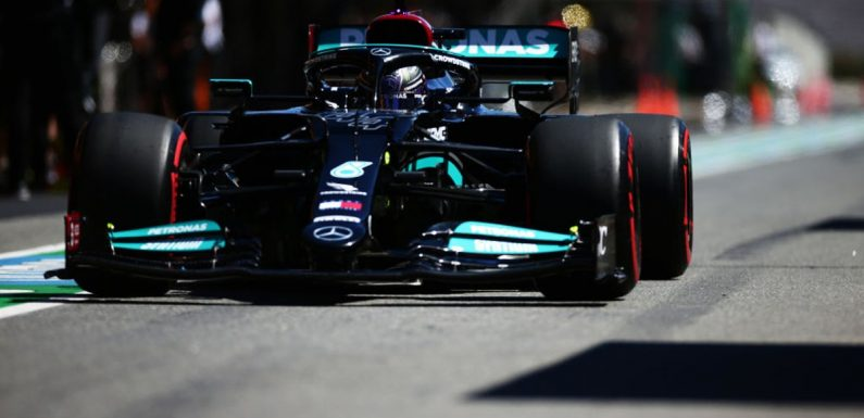 Lewis Hamilton tops second practice after early struggles at Portimao