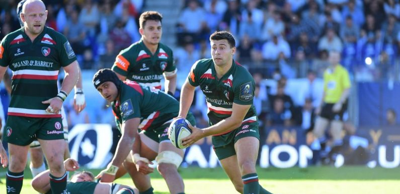 Lions hopeful Ben Youngs dropped for biggest match of Leicester Tigers' season