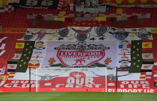 Liverpool fans to remove all flags from Anfield Kop in protest against Super League