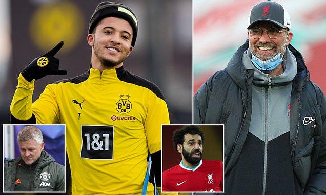 Liverpool 'may swoop for Jadon Sancho this summer'