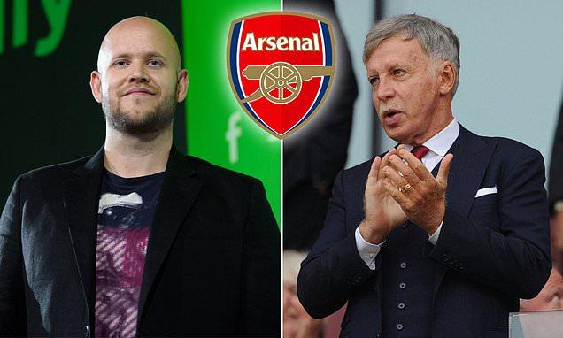 MARTIN SAMUEL: If Ek is serious about Arsenal, show Kroenke the money