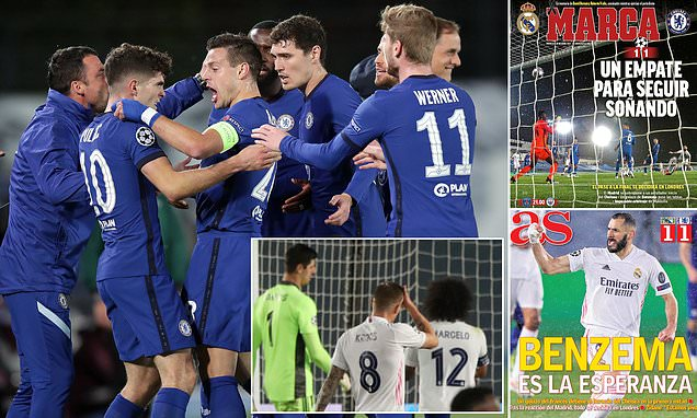 Madrid's media hail the way Chelsea overran Real in Champions League
