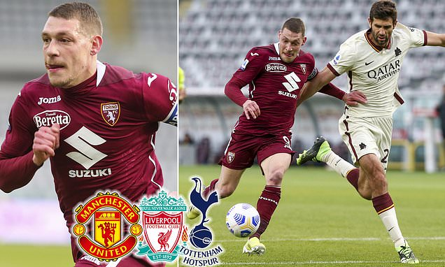 Man United, Liverpool and Spurs 'interested in Andrea Belotti'