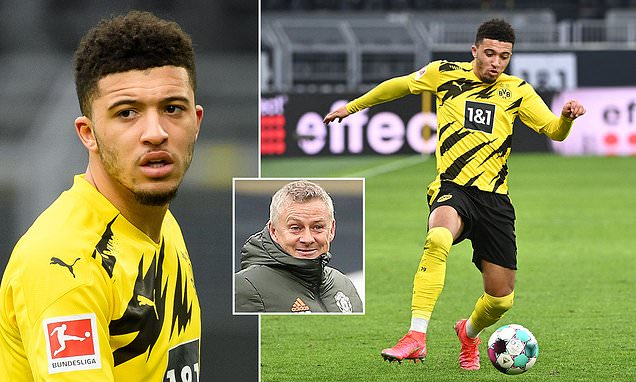 Manchester United 'have not ended their interest in Jadon Sancho'