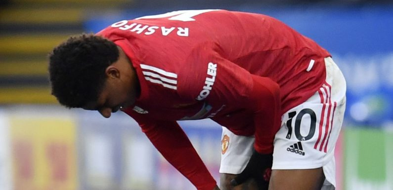 Marcus Rashford 'has been playing through pain for two years' at Man Utd