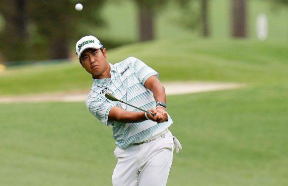 Matsuyama shoots 7-under 65, leads at Masters