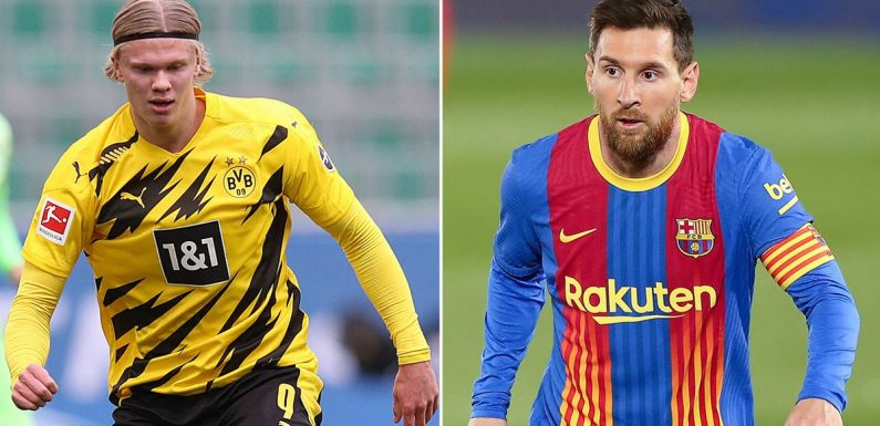 Messi 'makes Haaland sacrifice' as details of Barcelona contract emerge