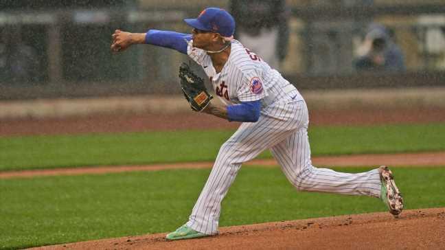 Mets' Stroman upset game started amid rainfall