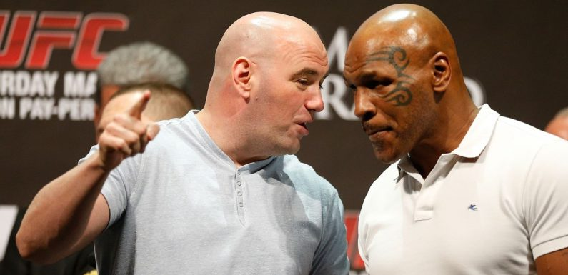 Mike Tyson 'was offered no holds barred UFC deathmatch' – and boxer accepted